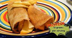 Apple Pie Protein Crepes Recipe