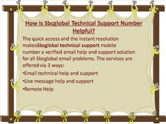 SBCGlobal Technical Help Toll Free Number 1 888 269 0130