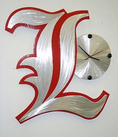 University of Louisville clock by Tony Viscardi  www.ViscardiDesigns.com