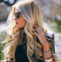 Włosy naturalne fale clip in