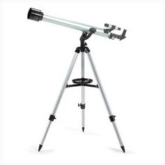 Telescope W/Tripod Star Gazing With a focal length of budding astronomers will be able to detect close-up details of celestial phenomena as well as terrestrial views of nature or the urban landscape. Science Supplies, Educational Games, Focal Length, Urban Landscape, Stargazing, Fun Learning, Tripod, Telescope, The Ordinary
