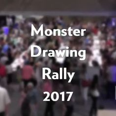#TBT to our hit annual event, Monster Drawing Rally! This year, 80 artists drew live in the galleries before their work went immediately up for sale and more than 100 pieces of original art went home with attendees. Check out this video from this year's event to relive the fun! #NCMAmonster Monster Drawing, Rally, Galleries, Original Art, Artists, The Originals, Live, Drawings, Check