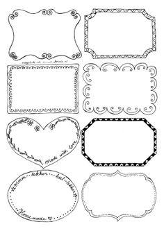 Printable voor etiketten pdf Bullet Journal Banner, Bullet Journal Mood, Diy Paper, Paper Crafts, Polka Dot Classroom, Canning Jar Labels, Free Label Templates, Diy Hair Bows, Printable Labels