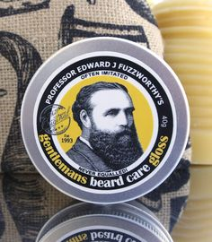 Beauty and the Bees is a skin and hair product company from Australia that offers men the Professor Fuzzworthy's Beard Care Gloss and Conditioner.