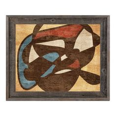 """Click Wall Art 'Childhood Drawing' Framed Painting Print Size: 14.5"""" H x 17.5"""" W x 1"""" D"""