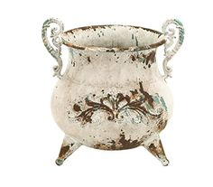 Benzara Classy Designed Metal Vase with Rusty Look and Antiqued Charm Benzara http://www.amazon.com/dp/B009D4XX30/ref=cm_sw_r_pi_dp_zjjfwb11KKM1B