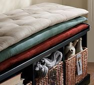 Shop indoor bench seating cushions from Pottery Barn. Our furniture, home decor and accessories collections feature indoor bench seating cushions in quality materials and classic styles. Daybed Mattress, Upholstered Daybed, Tufted Bench, Bench Cushions, Pillows, Cottage Cushions, Bench Seat, Entryway Furniture, Bench Furniture