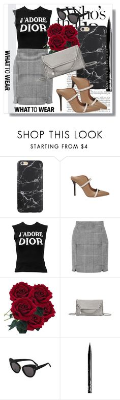 """Monnier Freres !!"" by dianagrigoryan ❤ liked on Polyvore featuring Malone Souliers, Christian Dior, Pierre Balmain, STELLA McCARTNEY and NYX"