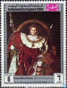 Ras Al Khaimah, Sharjah, Abou Dabi, Coffee Origin, Famous Men, Postage Stamps, History, Painting, Napoleon