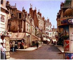 The set used as Paris, on MGM's backlot, for 1951's 'An American In Paris'