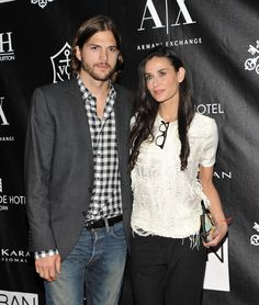 """Ashton Kutcher, Demi Moore (2005-2011)  When you have an """"open marriage.""""  The atypical couple's reported open marriage policy apparently went to bust after details about Kutcher's alleged affair with a 22-year-old girl hit the tabloids."""