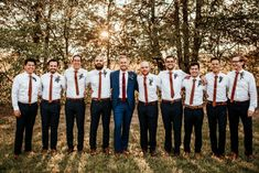 Tennessee Farm Wedding Brimming With Bohemian Romance red tie groomsmen Wedding Groom, Farm Wedding, Green Wedding, Wedding Attire, Wedding Shoes, Country Groom Attire, Bridesmaid Skirt And Top, Wedding Photography Checklist, Photography Ideas