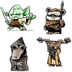 Star Wars Characters-035 by derekbourgeois, via Flickr