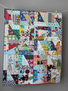 I Spy Quilt- Colorful Baby Quilt- Unique Baby Quilt- Homemade Baby Quilt- One of a kind Quilt- Scrap Baby Quilt- Best Baby Gift Ever Baby Girl Quilts, Boy Quilts, Girls Quilts, Scrappy Quilts, Crumb Quilt, Neutral Quilt, I Spy Quilt, Bird Quilt, Best Baby Gifts