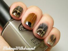 actual feathers on your nails...amazing