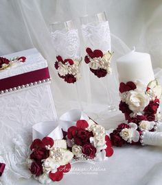 #свадебныйнабор #свадебныйдекор #свадебныеаксессуары #свадебныеприглашения #наборнасвадьбу #свадебныйкомплект #бокалынасвадьбу #свадебныесвечи