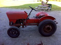 1967 economy power king utility tractor in original unrestored power king 1614 tractorslawn