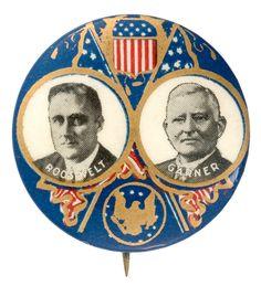 Franklin Roosevelt/John Garner jugate, 1932