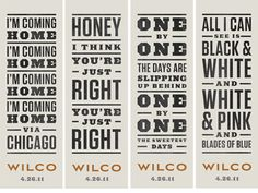 Listen to Wilco and I promise you won't regret it!