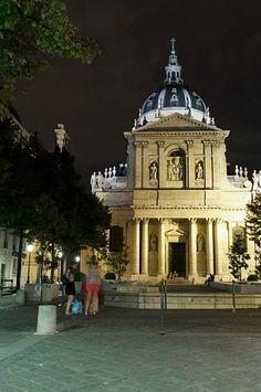 Place de la Sorbonne, Paris 2011  ©T.Morel-Fort/SipaPress/CRT PIdF  #Sorbonne #Paris #Parisbynight