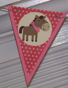 Western / Cowgirl / Pony Themed Happy Birthday by APaperPlayground, $23.50