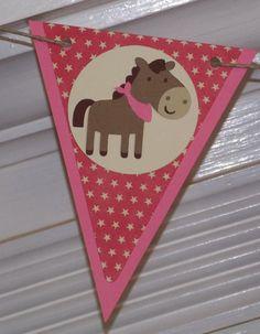 Western / Cowgirl / Pony Themed Happy Birthday by APaperPlayground, $23.50