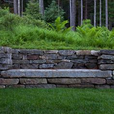 Landscape Fountain Set Into Retaining Wall Design, Pictures, Remodel, Decor and Ideas - page 10