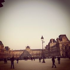 Louvre at 6pm
