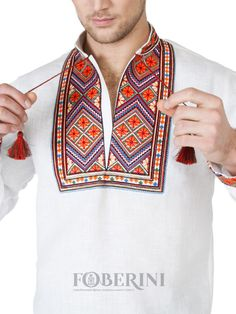 FOBERINI men's Ukrainian vyshyvanka, Ukrainian casual, shirts brand, vyshyvanka Canada, vishivanka, vyshyvanka, vyshyvanka sorochka, vyshyvanka embroidery western, embroidered shirts, vyshyvanka shirt, Ukrainian clothing, Ukrainian clothing Canada, Ukrainian costumes, Ukrainian skirts, borders embroidered shirt, Ukraine embroidered shirt for men, Ukrainian embroidered sorochka embroidery, sale.