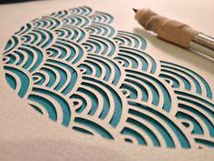 Arches papercut