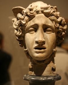Gorgon - Medusa - I just love Roman, Greek and Neoclassical versions. Here's one carved in marble