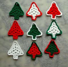 9 sapins - follow link for instructions