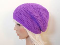 Free Easy Crochet Patterns | ... and Crochet Blog: free crochet pattern: really easy slouchy beanie