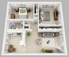 Cottage layout, stoep by lounge and kitchen