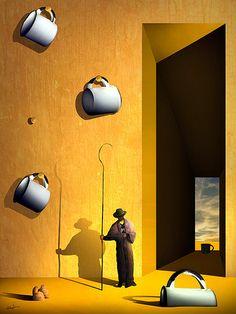 O Colecionador de Xícaras. | Marcel Caram