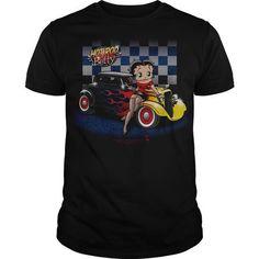 Betty Boop Hot Rod T Shirts, Hoodies Sweatshirts. Check price ==►…