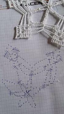 - Her Crochet Crochet Snowflake Pattern, Crochet Motif Patterns, Crochet Stars, Crochet Snowflakes, Crochet Mandala, Crochet Diagram, Thread Crochet, Crochet Doilies, Crochet Christmas Ornaments