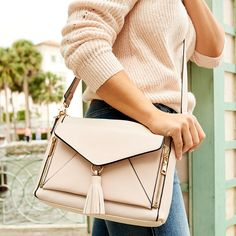 the DAHLIA CROSSBODY blush – Poppy & Peonies Crossbody Clutch, Satchel, Dahlia, Vegan Leather, Color Blocking, New Look, Convertible, Poppies, Blush