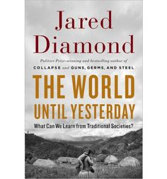 Diamond draws extensively from his decades of field work in the Pacific islands, as well as evidence from Inuit, Amazonian Indians, Kalahari San people, and others. Diamond finds that their solutions to universal human problems have much to teach the contemporary world. A provocative, enlightening, and entertaining book that will be essential and delightful reading.
