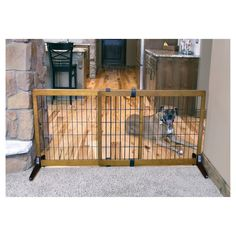 My Man Cave Part 1 Diy Dog Fence For Garage Doors