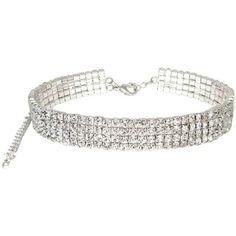 Buy Link Up Diamante Choker Necklace at Argos.co.uk - Your Online Shop... ($30) ❤ liked on Polyvore featuring jewelry, necklaces, chokers, diamante jewelry, diamante necklace, diamante jewellery, choker jewelry and choker necklace