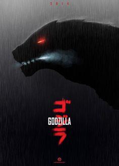 Cool Godzilla 2014 fan-poster - Godzilla 2014 Gallery