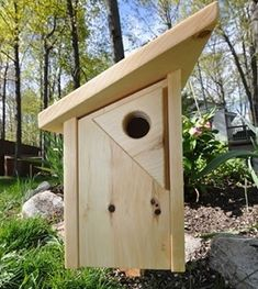 Animal House Blue Bird House