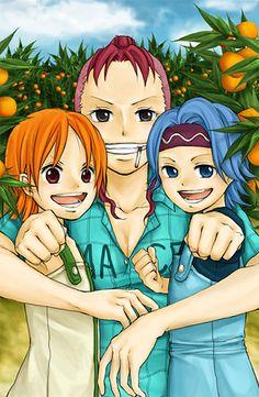 Nami, Nojiko, and Belamere