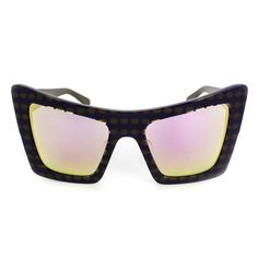 The Shutterbug | Lilac Mirror Lens | Dotted Black