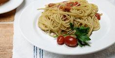 Spaghetti con la bottarga - http://www.piccolericette.net/piccolericette/spaghetti-con-la-bottarga/
