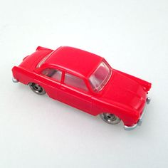 LEGO 1/87 H0: VW 1500 / Rot / red / Rouge / rosso / vintage toy collector item in Spielzeug, LEGO | http://www.cyan74.com