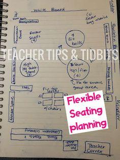 Teacher Tips and Tidbits: Flexible Seating in Kindergarten