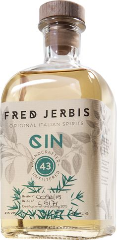 Fred Jerbis Gin