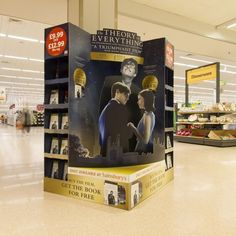 Theory of Everything - Cardboard Design - In-Store Theatre - FSDU Design: